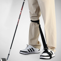 Wholesale Golf Training Aids - Golf Leg Correction Band Belt Training Aids Swing Trainers Beginner Body Practice Posture Corrector Support Arc Golf Tools Accessories