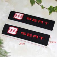 Wholesale Racing Seats Black - Excellent car sticker all cotton for Seat Leon Ibiza Altea Belt Racing Seat accessories car-styling wholesale