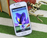 Wholesale samsung galaxy trend duos online - Unlocked Cell Phone Original Samsung GALAXY Trend Duos S7562i Inch ROM GB WIFI GPS Blluetooth G WCDMA Android refurbished phone
