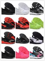 Wholesale Orange Athletic Shoes For Men - Newest Air Huarache I Running Shoes For Men Women athletics shoes Sneakers Triple Huaraches 1Trainers huraches Sports 3 III men women Shoes