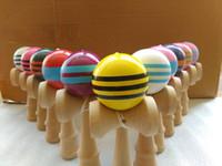 Wholesale jumbo kendama toy for sale - Group buy new cm jumbo Professional Glossy Kendama Ball Japanese Traditional Wood Game Kids Toy PU Painted Beech Leisure Sports
