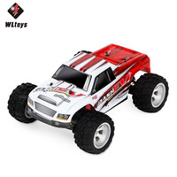 Wholesale Wltoys Buggy - WLtoys RC Car 1:18 High Speed RC Buggy Off-Road Trucky Vehicles 4WD 2.4G 70km h RC Vehicle Simulated Radio Control Off-Road RTR +NB