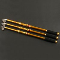 2.1M 2.4M 2.7M 3.0M Peso telescopico portatile 3.6M Rod Rod Fishing Rod Fishing Spinning
