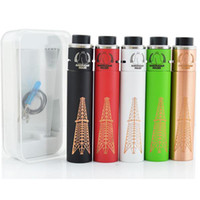 Wholesale Match Free Ecig - ECig RIG V2 Mechanical MODs Matching With Roughneck RDA V2 Kit 510 thread pring Switch Copper Pin PEEK Insulator fit 18650 battery DHL FREE