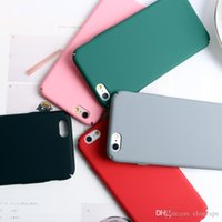 Wholesale Pouch Hard Shell Case - Ultra thin hard pc case for iPhone 8 7plus plastic mobile cell phone For iPhone 6 6S Plus matt shell case cover