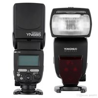 Compra Flash Ttl Senza Fili-YONGNUO YN685 Speedlight E-TTL Speedlite HSS 1 / 8000s Flash GN60 2.4G Wireless Speedlite per Canon DSLR