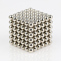 Wholesale magic magnetic balls - 5mm Magic Magnetic Ball 216pcs Neodymium sphere magnets with box Neodymium Magnet Composite and Industrial Magnet Application ball magnet
