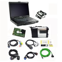 Wholesale Used Car Systems - MB Star C5 MB SD Connect C5 for mb car and truck diagnostic tool with 2017.09V software with CF52 laptop ready USE