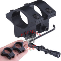 Wholesale Low Profile Laser - 2016 New 25.4mm Low Profile Dovetail 11mm Scope Mount Rail Ring for Laser Flashlight Free Shipping