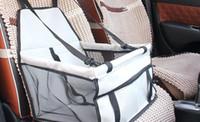 Wholesale safest car seats resale online - Dog Carrier Car Seat Safe Pad Cat Puppy Bag Car Travel Accessories Waterproof Dog Bag Basket Pet Products