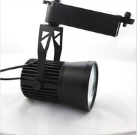 Wholesale switch stores resale online - Super bright Integrate W LED Track Light LM W COB Spotlights beam angle AC85 V with CE RoHS certificate For Clothing Stores