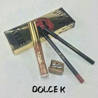 2016 caldo 4 in 1 Kylie Jenner LIP KIT 4 in 1 compleanno Edtion trucco Kylie Lip liquido Lip Gloss 4IN1 Matte Lip Kit Eyeliner Pencil Kyliner