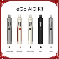 Wholesale E Cigarette Battery Joyetech - [ big sale ] Authentic Joyetech eGo AIO Kit With 1500mAh Battery Anti-leaking Structure Childproof Lock All-in-one style E-cigarette Kits
