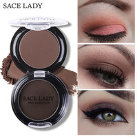 SACE LADY Natural Matte Eye Shadow Водонепроницаемая палитра 18 цветов Пигмент Nude Eyeshadow Makeup Brand Beauty Make Up Cosmetic