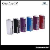 innokin cool fire box mods großhandel-2015 Innokin CoolFire IV 40 W Batterie Mod Cool Fire IV Express Kit 2000 mAh Innokin Coolfire 4 Box Mod 2201044 100% Authentisch