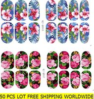 Wholesale Nail Foil Self Adhesive - Nail art stickers elk and flowers glow in the light self adhesive nail wraps nail foils nail decals bling glitter nail beauty accessories
