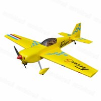 "Wholesale Balsa Airplane Models - Wholesale- Flight Model Funtana 70"" Balsa Wood Funtana RC Airplane Model Gas 26-30cc Wooden Plane"