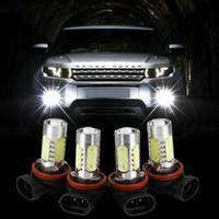xenon h4 kit coche al por mayor-H11 H8 9006 H7 H4 H3 Xenon Luz de bombillas de niebla blanca del coche de 7.5W LED para los vehículos del coche 12V