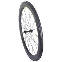 Wholesale Wholesale Carbon Wheels - 700c dimple carbon rims 58mm carbon wheels road bike carbon rims 25mm width clincher rims