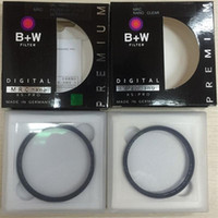 Wholesale Lens Filter 55 - 49 52 55 58 62 67 72 77 82mm B+W MRC UV Circular Ultra-Violet Filter Professional Lens Protector With Retail Package 1pcs Free Shipping