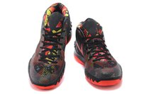 Wholesale Quality Fabrics China - 2016 drop shipping cav kyrie 2 fashion Top quality Basketball Shoes Sneakers men China basketball Shoes sports shoes black red 36-46