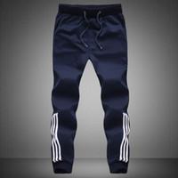 Wholesale Mens Casual Joggers Jogging Pants - Wholesale-Mens Joggers Sweatpants for Men 100% Cotton Jogging Pant Gym Casual SweatPants Plus Size 5XL Jogger Pant Bottoms