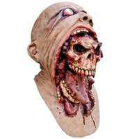 Cute Zombie Horrorable Face Rotting Zombie Natale Halloween Party puntelli maschere di lusso fantasma Horror spaventoso maschera