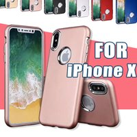 Wholesale Iphone Button Protective - Cell Phone Cover fo iPhone X TPU Electroplating Button Oil Protective Phone Cases Luxury for Note 8 7 6 6s Plus Samsung Galaxy S8 S7