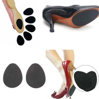 Anti-Slip Self-Adhesive Shoes Mat High Heel Sole Protector Almofadas de borracha Almofada sem deslizamento Insole Forefoot High Heels Sticker