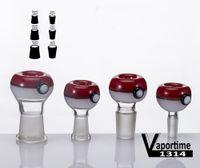 en çok satan cam borular toptan satış-Top Cam Kase 14mm 18mm Erkek Kadın Ortak Ayrıca Satmak 3 Parça Değirmeni Karikatür Ürün Boru Bong 517