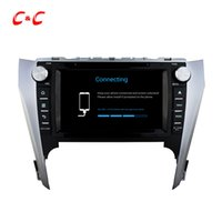Quad-Core HD 1024 * 600 Android 5.1.1 Auto DVD-Spiel forToyota CAMRY 2012 mit GPS-Navigation Radio Wifi Spiegel Link DVR