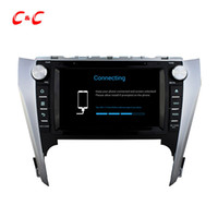 Quad Core HD 1024 * 600 Android 5.1.1 Car DVD Play forToyota CAMRY 2012 con navegación GPS Radio Wifi Espejo enlace DVR