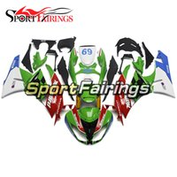 Wholesale Zx6r Frame - Injection Fairings For Kawasaki Ninja ZX-6R ZX6R 09 10 11 12 Sportbike ABS Motorcycle Fairing Kit Bodywork MOTOCARD 69 Body Frame Covers New