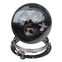 faro led anillo al por mayor-Parte de la motocicleta Harley Moto Headlamp 7