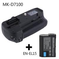 Wholesale Battery En El15 - Meike MK-D7100 Vertical Battery Grip for Nikon D7100 D7200 as MB-D15 + EN-EL15