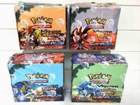 Wholesale Pocket Edition - Poke Trading Cards Games Sun & Moon English Edition Anime Pocket Monsters Cards Toys 324pcs lot Kids Cartoon Toys