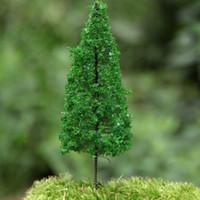 ingrosso piante di pino-24 Pz / pino artificiale / miniature / rosa / piante carine / fairy garden gnome / moss terrarium decor / artigianato / bonsai / bottle garden / p006