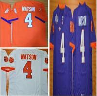 1d1ba2f0e ... Football Men Sleeveless Clemson Tigers DeShaun Watson Men Jersey 4  Diamond Quest College Mens Football ...