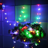 Wholesale keyboard light plugs for sale - Group buy Waterproof LED String light M led ball AC110V V US PLUG outdoor Indoor decoration lighting for christmas festival party