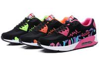 chaussures de chaussures chaudes pour filles achat en gros de-Hot Air Mesh Respirant Femmes Chaussures de Course Femmes Dames Confortable Chaussures Plateforme Sport Sneakers Outdoor Mouvement Femmes
