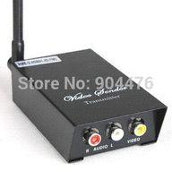 Wholesale Cctv Wireless Senders - 2.4GHz Signals 4 Channels AV Audio Video Sender Wireless Transmitter Receiver For CCTV Camera DVD VCR DVR New Free Shipping