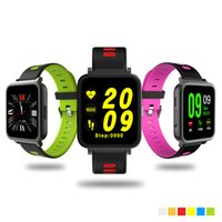 Wholesale Watch Female Mechanical - Colorful D10 Mechanical Smart Watch MTK2502 Heart Rate Monitor Healthy Sport Pedometer Sleep Monitor Sync Bluetooth 4.0 Music Smartwatch
