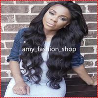 Wholesale Brazilian Hair Supplies - Top quality hair human hair full lace wigs supply 7A grade human hair wig
