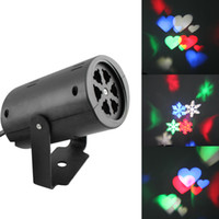 Wholesale Red Blue Led Strobe - led wall decoration laser light LED pattern lights, rgb colour 2 pattern card change lamp Projector Showers led laser light for holiday