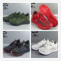 Wholesale Sheos Man - 2017 Original High Quality Ignite Evoknit Primeknit PK Men and Women Low boots Shoes Fashion Red Black running shoes sports sheos size 36-45