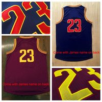 Wholesale Champions Basketball Jerseys - Jame #23 Player Basketball Jerseys Champions Basketball Shirts Men's Basketball Wear Top Quality Stitched Jerseys All Teams are Available