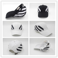Wholesale off panel for sale - Top Sale off Rarewhite baseball Kanye West Saint white Embroidery snapback caps bone summer golf hats panel dad hat