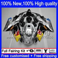 aprilia rs125 carrosserie achat en gros de-Carrosserie Injection Pour Aprilia RS4 RSV125 06 07 08 09 10 11 RS-125 0Y14 RS 125 R Argenté RS125 2006 2007 2008 2009 2010 2011 Carénage