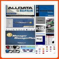 Wholesale alldata auto repair software All data Mitchell ondemand5 heavy truck data software in1 tb new USB harddisk