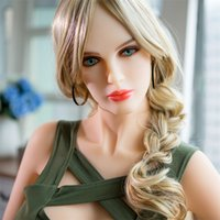 Wholesale Sex Dolls Pubic Hair - Blonde Furry Real Silicone Sex Doll Pubic Hair 165cm Lifelike Beautiful Artificial Hairy Vagina Sex Doll